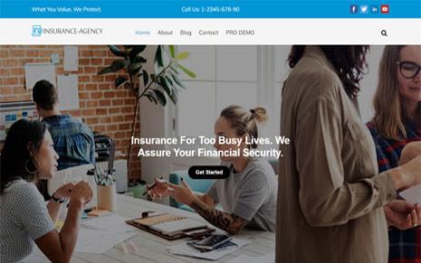 Free Insurance Agency WordPress Theme – Insurance Now