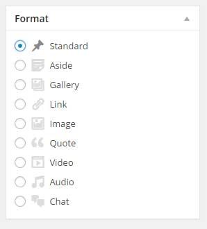 wordpress-post-formats