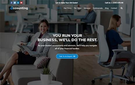 Accounting WordPress Theme – Accounting pro