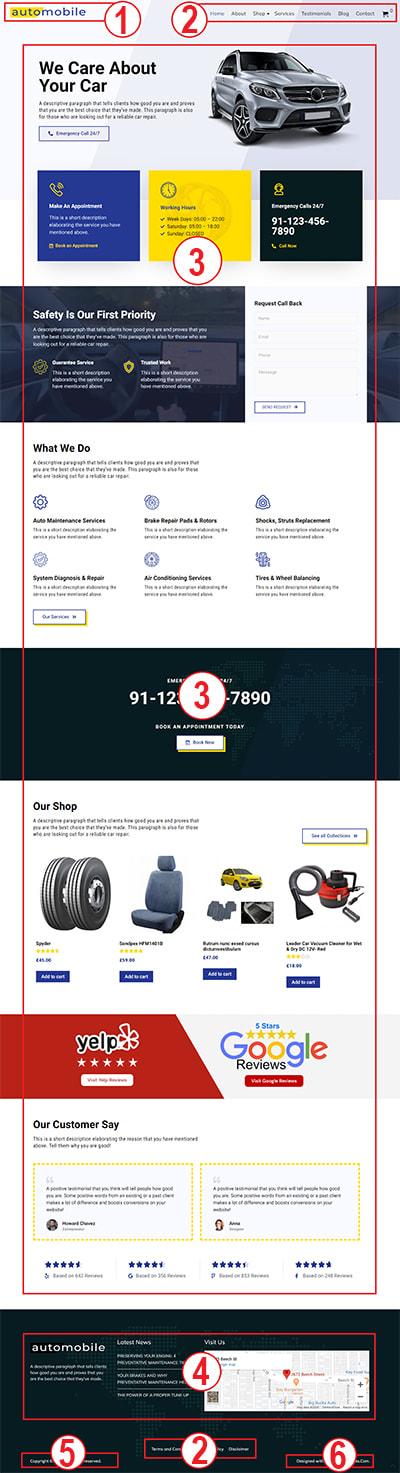 Automobile WordPress Theme – Automobile Pro Documentation