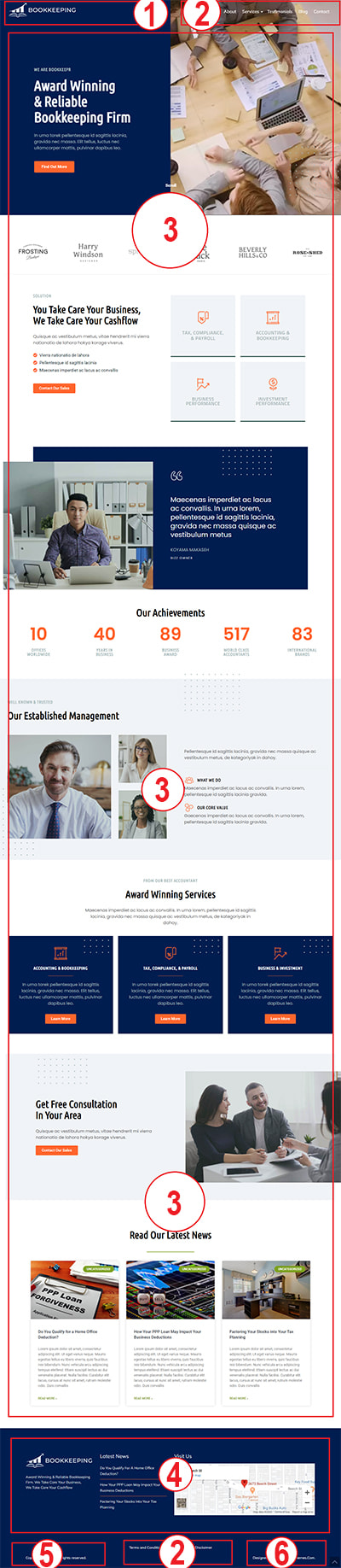 Bookkeeping WordPress Theme – Bookkeeping Pro Documentation