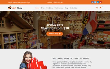 Gift Shop WordPress Theme – GiftShop Pro