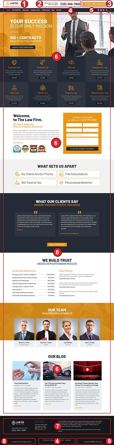 Lawyer WordPress Theme – Lawyer Pro Documentation