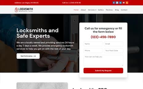 Locksmith WordPress Theme – Locksmith Pro