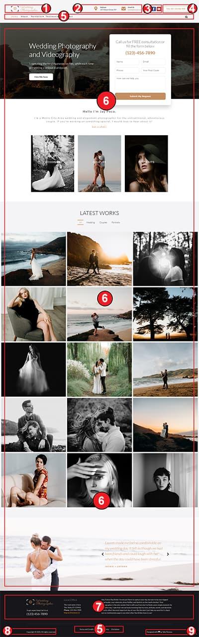 Wedding Photographer WordPress Theme – WeddingPhotographer Pro Documentation