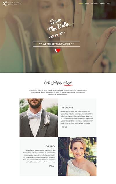 Wedding WordPress Theme – Wedding Plus Pro