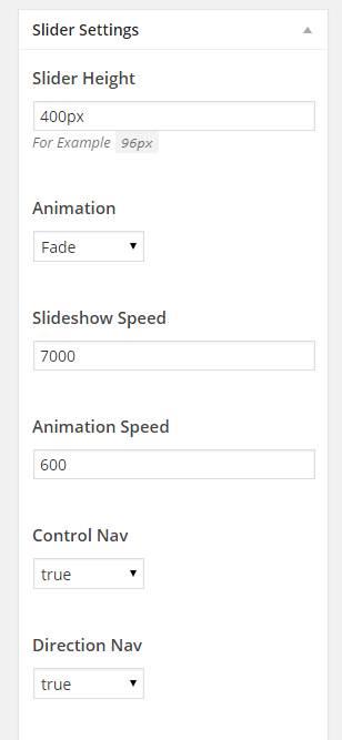 slider-settings