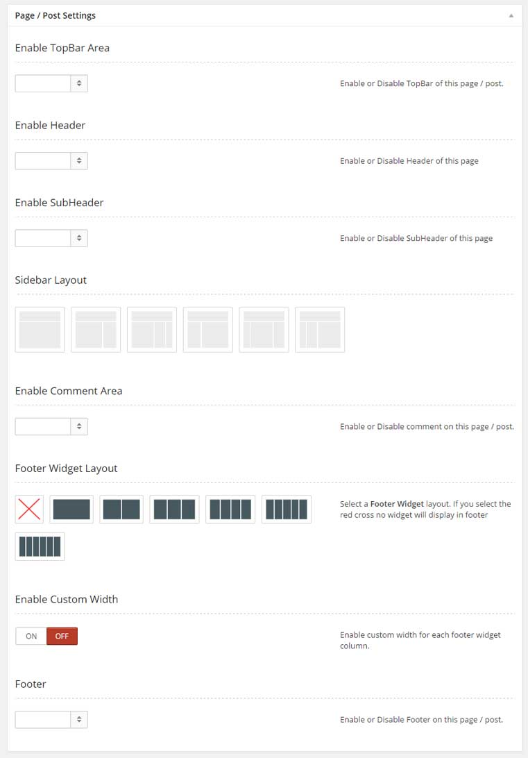 Page-Settings-of-our-WordPress-Theme